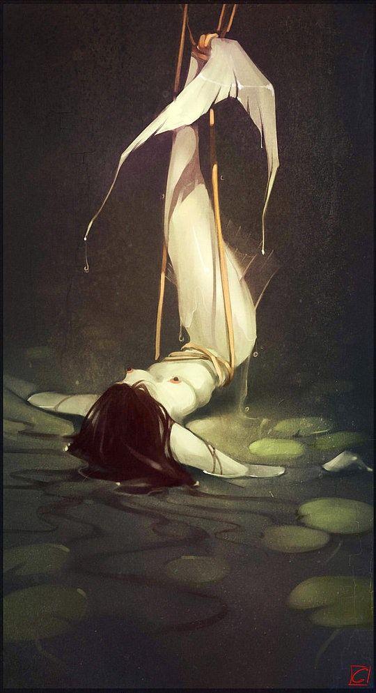 Fantasy #Illustration by Alexandra Khitrova