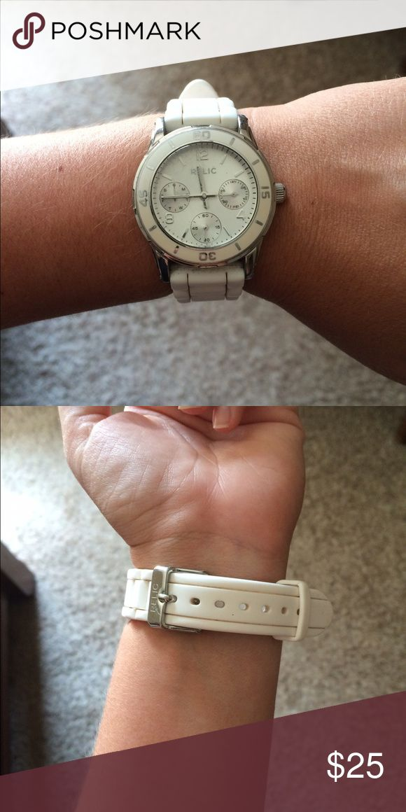 White Relic watch White. Works. Relic brand. Relic Accessories Watches