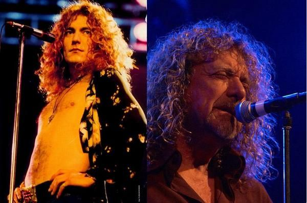 robert plant then and now led zeppelin pinterest robert ri 39 chard then and now and plants. Black Bedroom Furniture Sets. Home Design Ideas