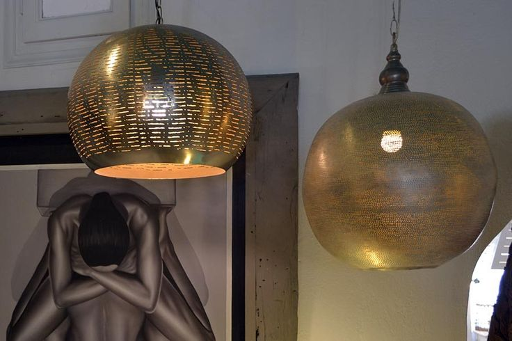 Metal Lighting,Play with the light. This is our moto at Chora Art…
