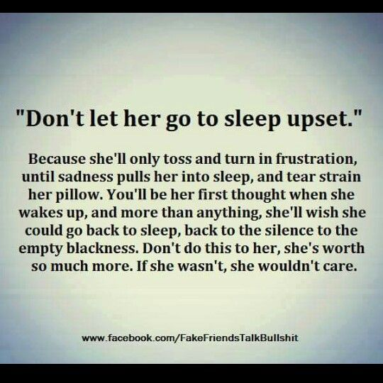 Exactly how I feel everytime I cry myself to sleep while you are over there snoring in bliss...