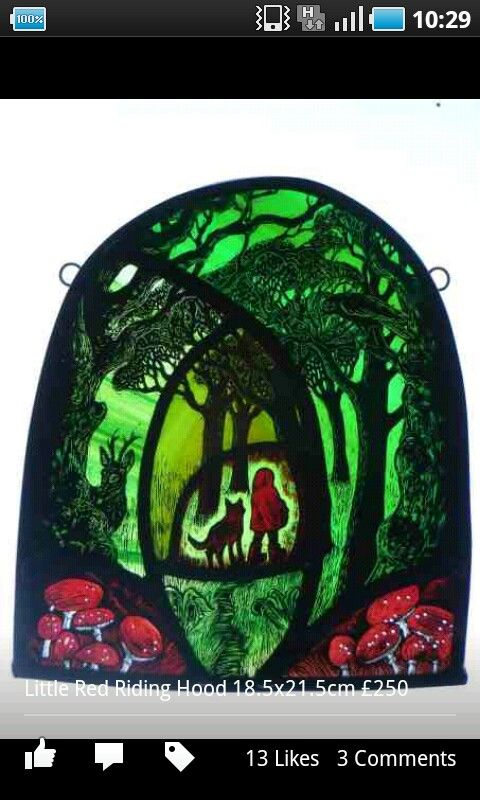 Stained glass art by tamsin abbott