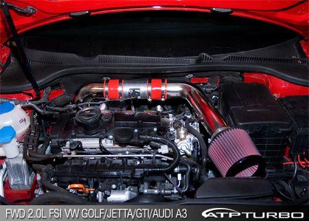 "3.0"" Modular Intake Kit VW Golf/Jetta/GTI/Audi A3 2.0TFSI ..."