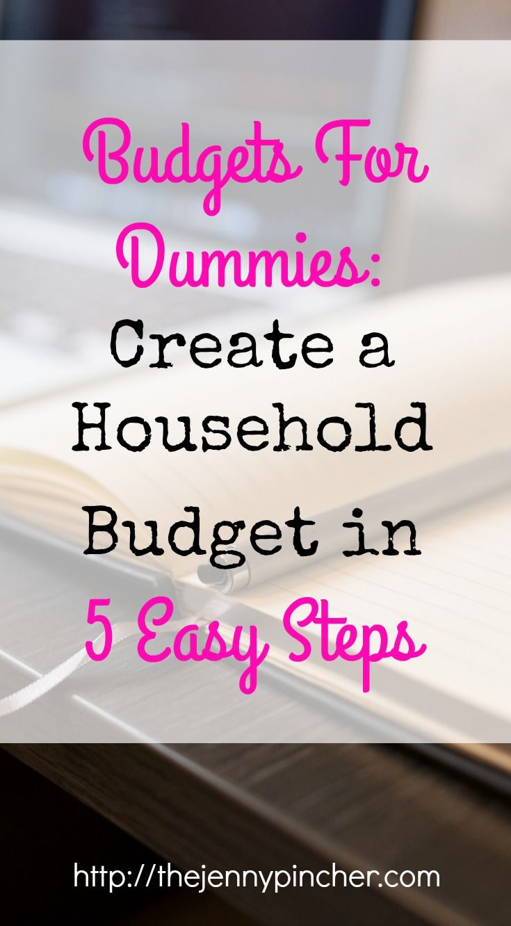 Maybe you have tried to create a budget but failed. Or you have just never thought much about budgeting before. No matter what your life-situation is right now, creating a household budget may seem intimidating. However, a simple budget is actually quite straightforward & I'll show you how! via @thejennypincher