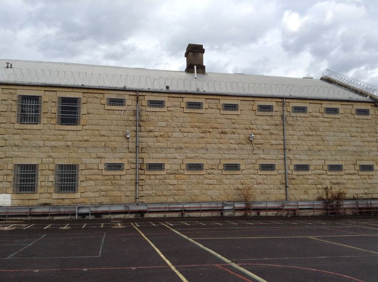 Beechworth Prison, where Ned Kelly was held during his trial