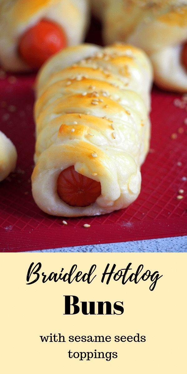 Braided Hotdog Buns Recipe Food Recipes Easy Filipino Recipes