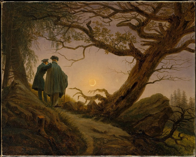 Romanticism - One of my favourite artists: Caspar David Friedrich!