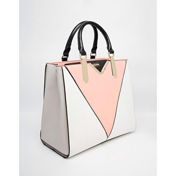 River Island V Front Tote ❤ liked on Polyvore featuring bags, handbags, tote bags, handbags tote bags, tote purses, handbags totes, white tote and river island handbags