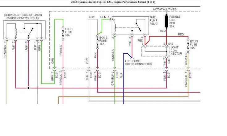 Hyundai Wiring Diagram In 2020 Electrical Wiring Diagram Diy Electric Car Trailer Wiring Diagram