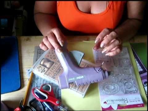 I materiali primari da comprare per chi decide di iniziare l'hobby dello scrapbooking - YouTube