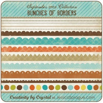 Really cool stylized borders and paper textures. Download these free printables by clicking the link at the top.