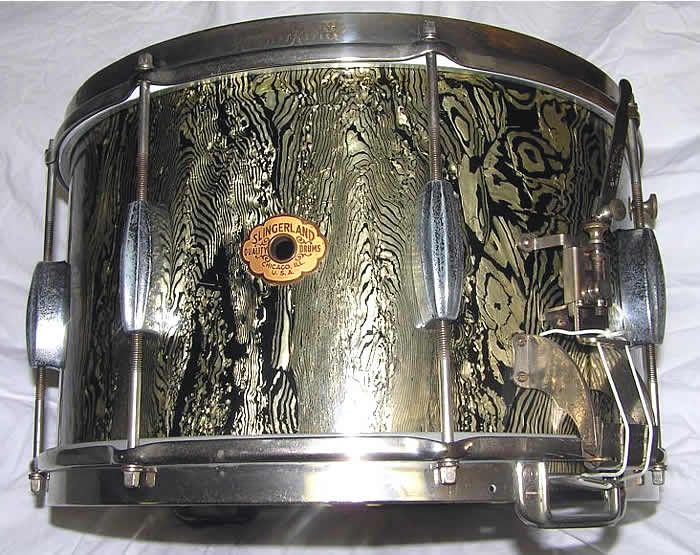 Slingerland 8x14 1930 Snare Drum Abalone Pearl