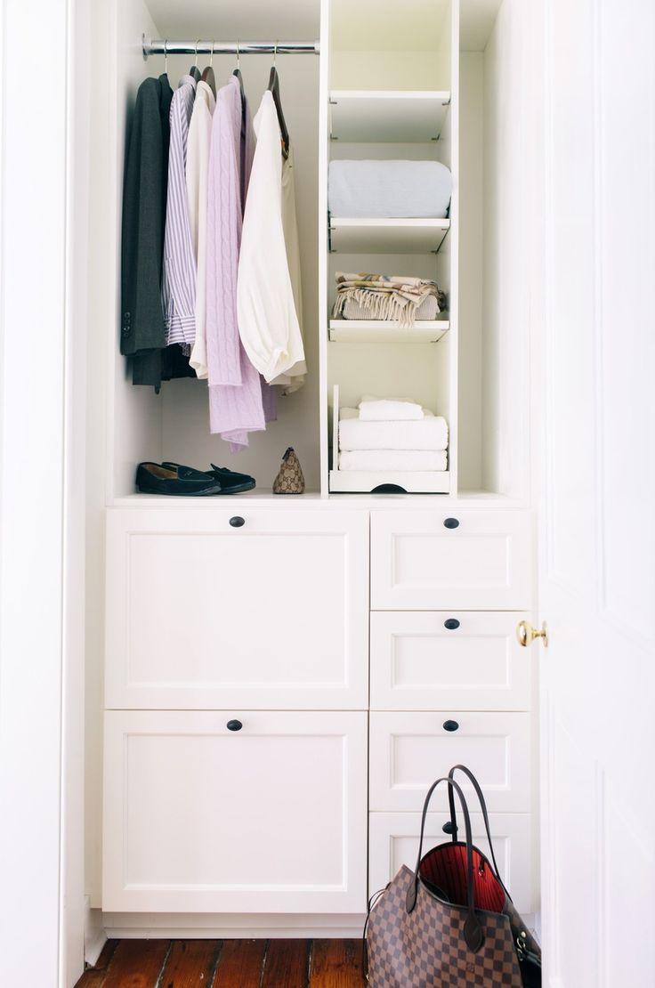 #organization, #storage, #closet Photography: Corbin Gurkin - corbingurkin.com/ View entire slideshow: Amazing Closets on http://www.stylemepretty.com/collection/193/