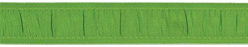 American Crafts 3/4-Inch Grosgrain with Gathered Center Ribbon, 2-Yard Spool, Cricket *** You can find more details by visiting the image link.
