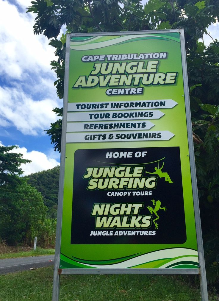 Meeting Point Cape Tribulation Jungle Surfing Office / Visitor Information Centre   Cape Tribulation Road
