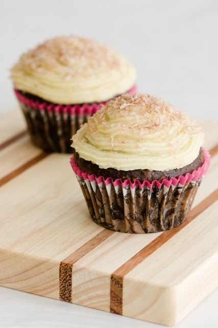 Chocolate Coconut Rum Cupcakes - from Cupcake Project