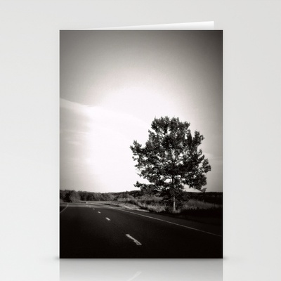 LONELY ROAD TREE Stationery Cards by Diane Perkins Photography - $12.00