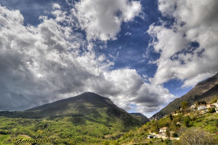 Abruzzo, Ripe di Civitella - monti della laga - hdr