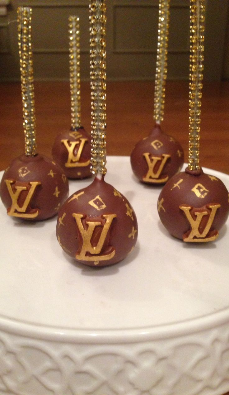Lv Cake Pops Chocolate Pinterest Oakley Sunglasses