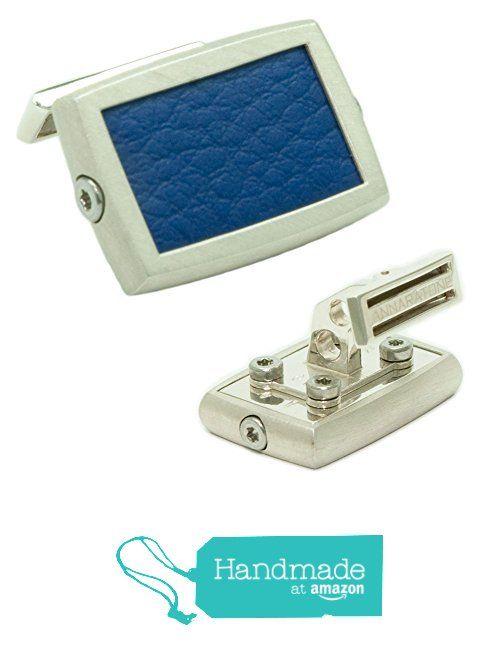 Annaratone Jewelry , Gemelli in Argento 925 , Historic Racing Blu Bugatti , finitura satinata da Annaratone Jewelry https://www.amazon.it/dp/B01LWUFDYE/ref=hnd_sw_r_pi_dp_per6xbMH27QTF #handmadeatamazon