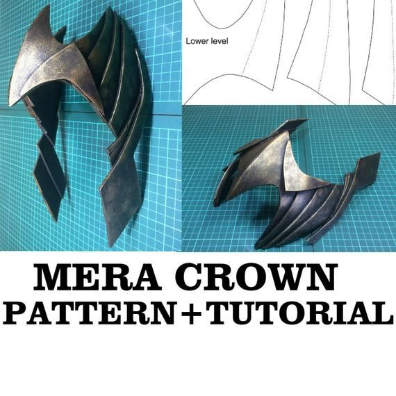 Aquaman Quinn Mera Crown Cosplay Costume Tiara Justice League Superhero Props