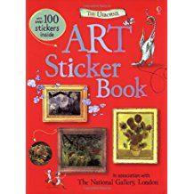 Art Sticker Book (Usborne Sticker Books)