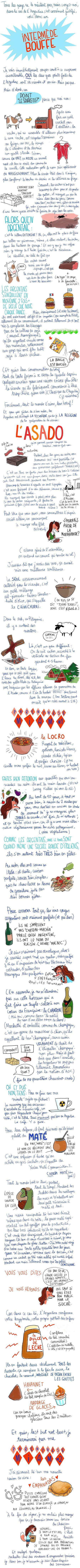 Que manger en Argentine par Pénélope Bagieu