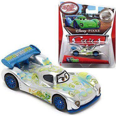 Disney/Pixar Cars, 2015 Exclusive Silver Racer Series, Carla Veloso Die Cast Vehicle, 1:55 Scale. #Disney/Pixar #Cars, #Exclusive #Silver #Racer #Series, #Carla #Veloso #Cast #Vehicle, #Scale