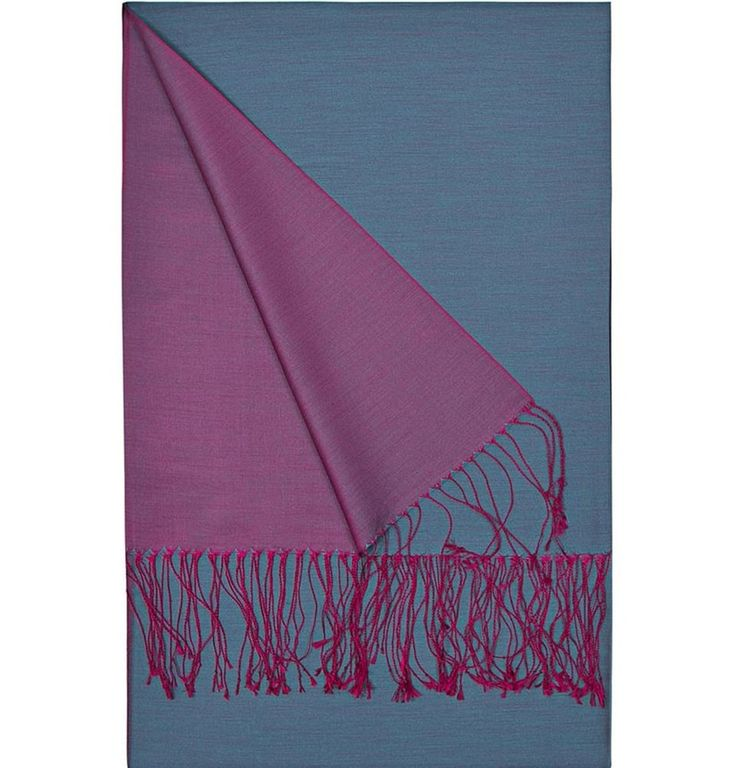 Aker Spring Summer 2015 Double-Sided Silk Shawl #393