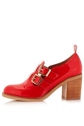 Chaussures avec double bride et talon mi-haut JACQUES