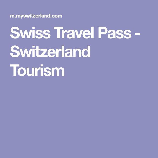 Swiss Travel Pass - Switzerland Tourism