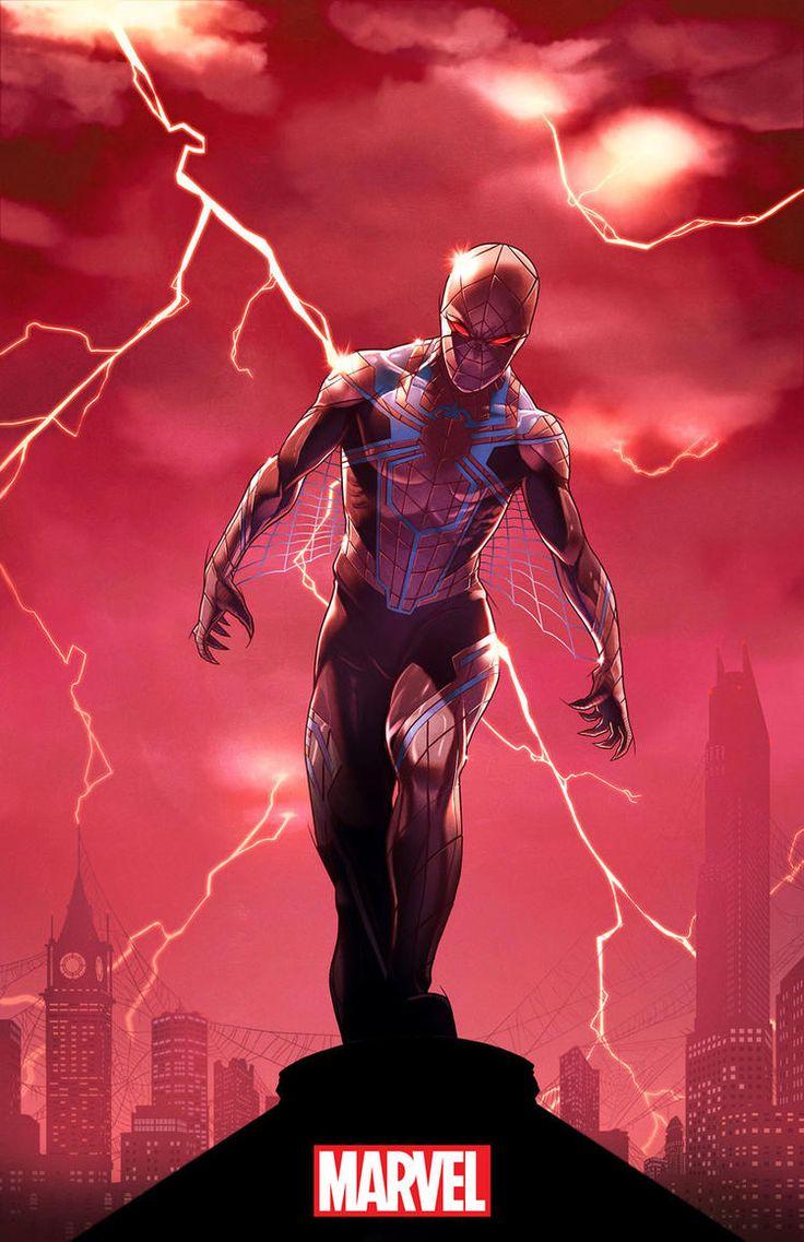 Homem-Aranha e Vingadores ganham novos trajes sombrios nos quadrinhos! - Legião dos Heróis