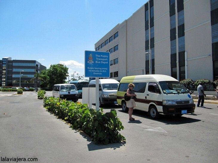 Estación de autobuses de George Town, Gran Caimán