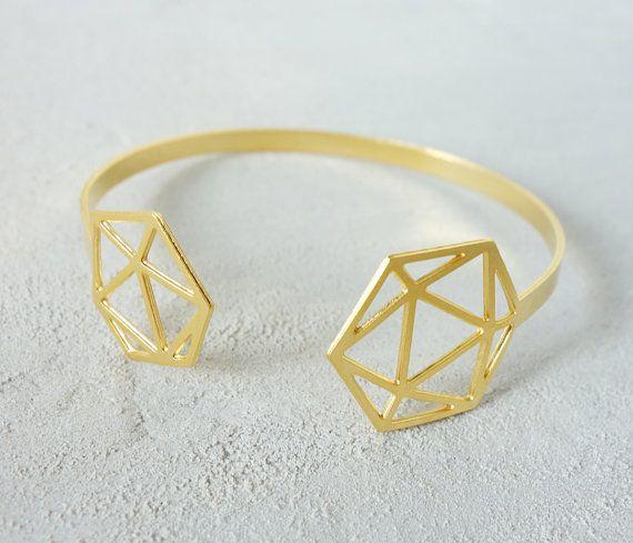 Open Geodesic Bracelet, Architectural jewelry, urban jewelry