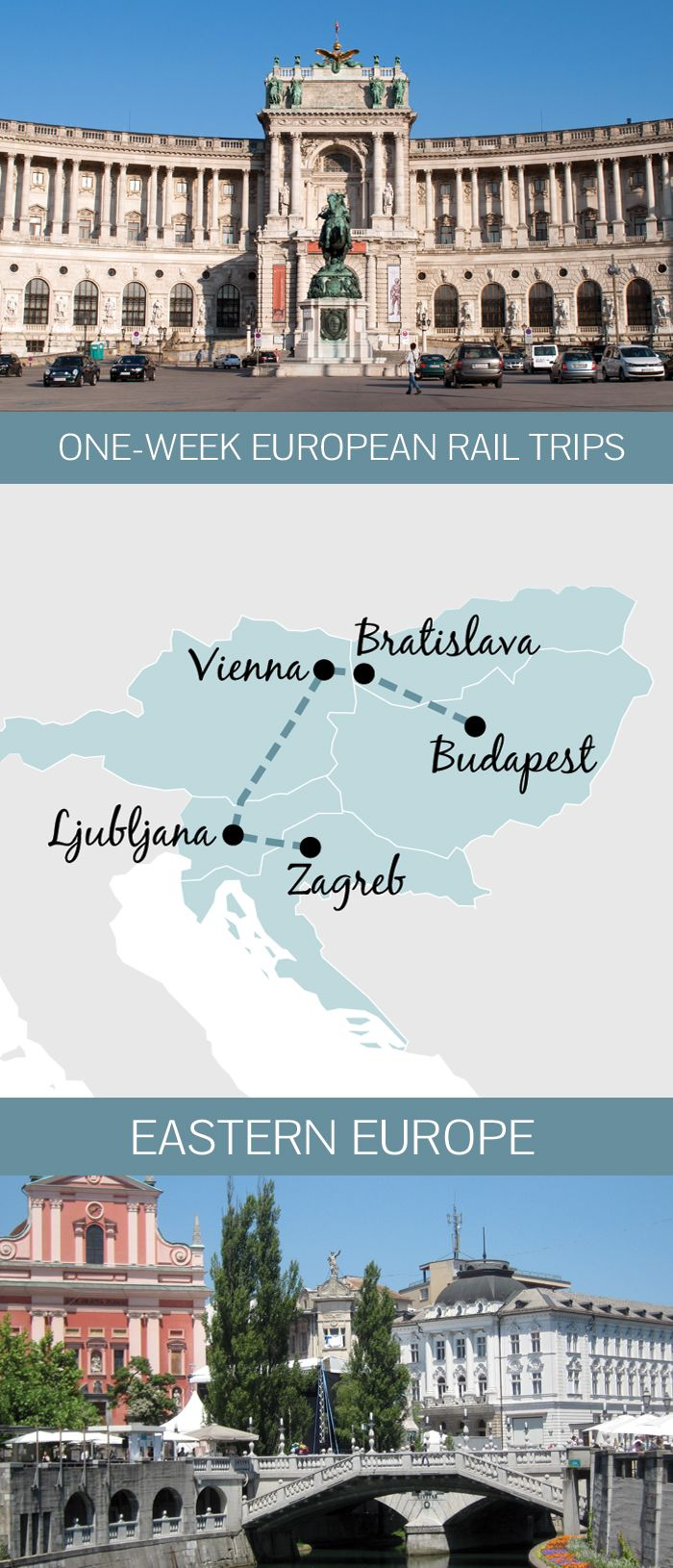 You don't need months to spare to see Europe by train – a one-week Eastern European rail itinerary from Budapest to Zagreb