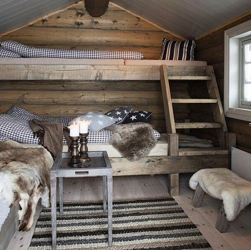 Cosy country cabin rooms - Bing images                                                                                                                                                                                 More