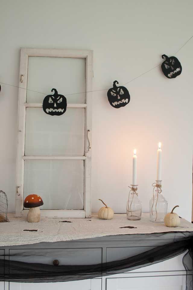Halloween dekoration spisestuen 2014