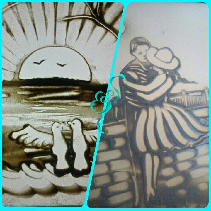 Песочная анимация в Мариуполе