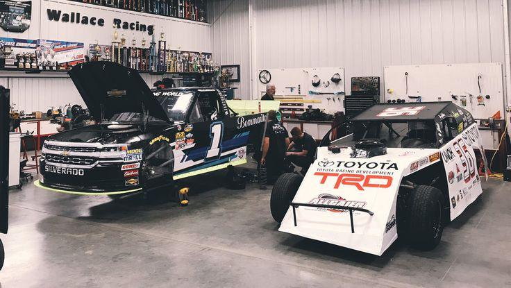Kenny Wallace Racing / NASCAR Garage https://racingnews.co/2017/06/23/kenny-wallace-racing-nascar-shop-jordan-anderson/ #kennywallace