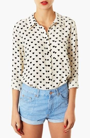 <3 Topshop at Nordstrom ummmmm i´m sorry does this top remind anyone of the one that a certain Brit wore to his 19th birthday celebration with a certain Irish lad?