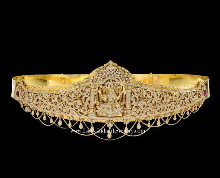 Luxurious Bridal Diamond Vaddanam
