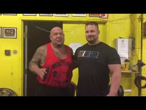 Learning with the great one's in Powerlifting with coach Gary Miller