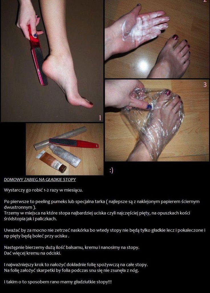 piekne stopy