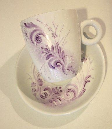 Pin Porcellane Dipinte A Mano Copie Dautore Decoratrice Di on ...