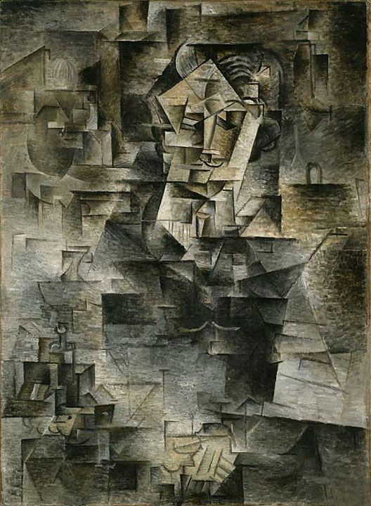 Picasso Portrait of Daniel-Henry Kahnweiler 1910 - Pablo Picasso - Wikipedia, the free encyclopedia