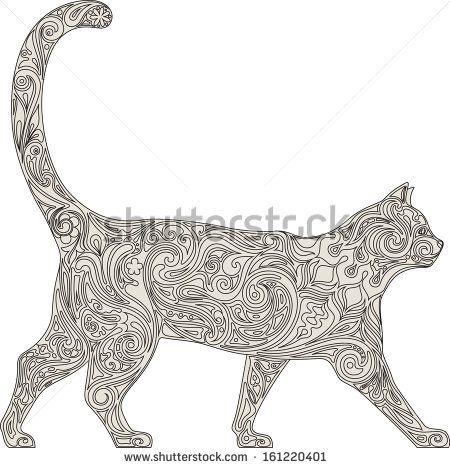Cat in lace by cupoftea, via Shutterstock
