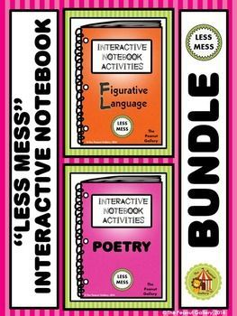 This 147 page BUNDLE involves tons of activities (with LESS MESS) to add some creativity and color to your figurative language
