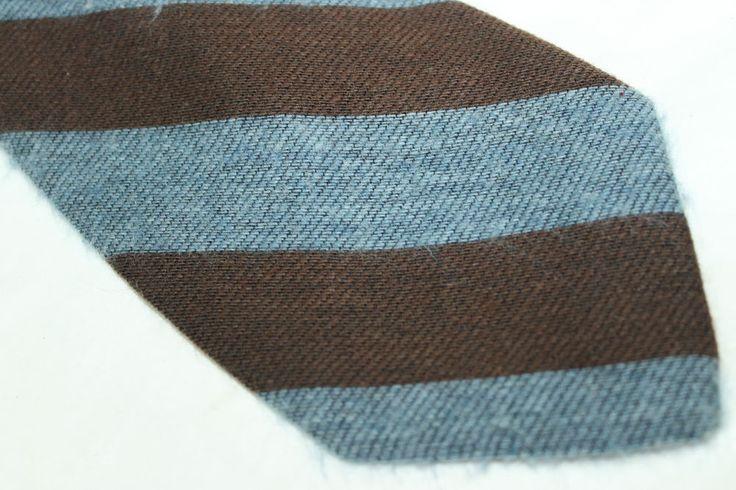 PELLICANO  100% Cashmere tie E15002 Made in Italy Classic(3 1/2 in.-3 3/4 in.)
