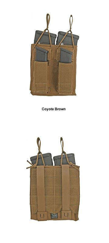 Tactical Molle Pouches 177900: Tactical Tailor 5.56 Double Magna - Coyote Brown BUY IT NOW ONLY: $71.25