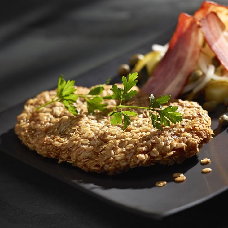 Sznycel w panierce owsianej z sałatką z ziemniaków - Kuchnia Lidla